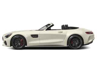 designo Diamond White Metallic 2018 Mercedes-Benz AMG GT Pictures AMG GT AMG GT Roadster photos side view