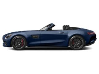 Brilliant Blue Metallic 2018 Mercedes-Benz AMG GT Pictures AMG GT AMG GT C Roadster photos side view
