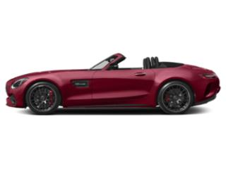 designo Cardinal Red Metallic 2018 Mercedes-Benz AMG GT Pictures AMG GT AMG GT C Roadster photos side view