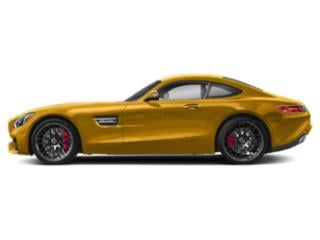 AMG Solarbeam Yellow Metallic 2018 Mercedes-Benz AMG GT Pictures AMG GT AMG GT C Coupe photos side view