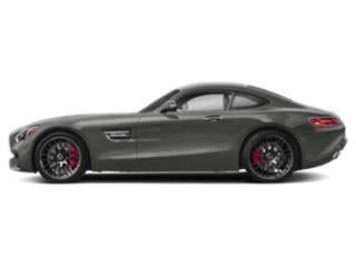 designo Selenite Grey Magno 2018 Mercedes-Benz AMG GT Pictures AMG GT AMG GT C Coupe photos side view