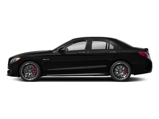 Obsidian Black Metallic 2018 Mercedes-Benz C-Class Pictures C-Class AMG C 63 S Sedan photos side view