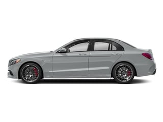 Iridium Silver Metallic 2018 Mercedes-Benz C-Class Pictures C-Class AMG C 63 S Sedan photos side view