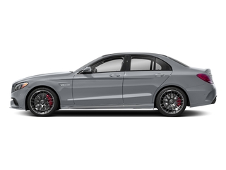 Diamond Silver Metallic 2018 Mercedes-Benz C-Class Pictures C-Class AMG C 63 S Sedan photos side view