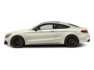 Polar White 2018 Mercedes-Benz C-Class Pictures C-Class AMG C 63 S Coupe photos side view
