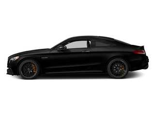 Obsidian Black Metallic 2018 Mercedes-Benz C-Class Pictures C-Class AMG C 63 S Coupe photos side view