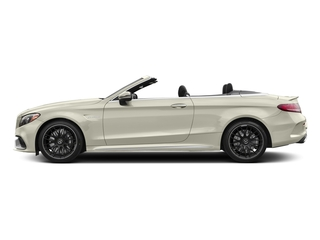 Polar White 2018 Mercedes-Benz C-Class Pictures C-Class AMG C 63 Cabriolet photos side view