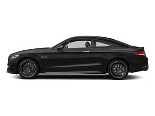 Obsidian Black Metallic 2018 Mercedes-Benz C-Class Pictures C-Class AMG C 63 Coupe photos side view