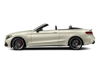 designo Diamond White Metallic 2018 Mercedes-Benz C-Class Pictures C-Class AMG C 63 S Cabriolet photos side view