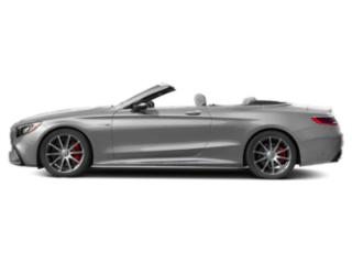 designo Allanite Grey Magno 2018 Mercedes-Benz S-Class Pictures S-Class AMG S 63 4MATIC Cabriolet photos side view