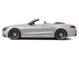 designo Cashmere White Magno 2018 Mercedes-Benz S-Class Pictures S-Class AMG S 63 4MATIC Cabriolet photos side view