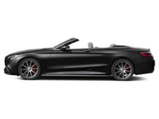 Obsidian Black Metallic 2018 Mercedes-Benz S-Class Pictures S-Class AMG S 63 4MATIC Cabriolet photos side view