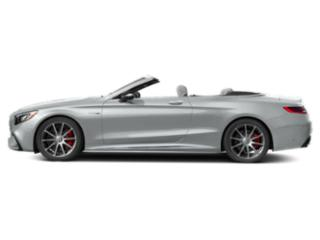 Iridium Silver Metallic 2018 Mercedes-Benz S-Class Pictures S-Class Convertible 2D S63 AMG AWD V8 Turbo photos side view