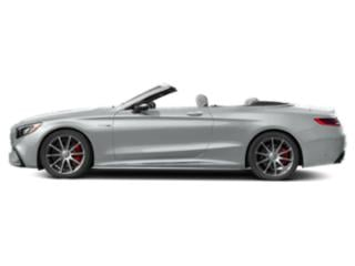 Iridium Silver Metallic 2018 Mercedes-Benz S-Class Pictures S-Class AMG S 63 4MATIC Cabriolet photos side view