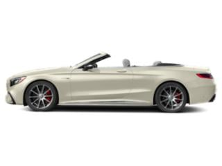 designo Diamond White 2018 Mercedes-Benz S-Class Pictures S-Class AMG S 63 4MATIC Cabriolet photos side view
