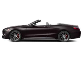Ruby Black Metallic 2018 Mercedes-Benz S-Class Pictures S-Class Convertible 2D S63 AMG AWD V8 Turbo photos side view