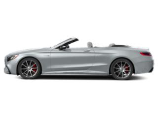 Diamond Silver Metallic 2018 Mercedes-Benz S-Class Pictures S-Class AMG S 63 4MATIC Cabriolet photos side view