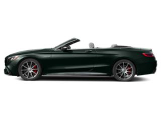Emerald Green Metallic 2018 Mercedes-Benz S-Class Pictures S-Class AMG S 63 4MATIC Cabriolet photos side view