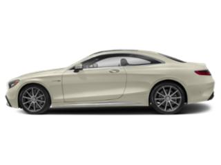 designo Diamond White 2018 Mercedes-Benz S-Class Pictures S-Class AMG S 63 4MATIC Coupe photos side view