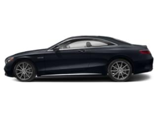 Anthracite Blue Metallic 2018 Mercedes-Benz S-Class Pictures S-Class AMG S 63 4MATIC Coupe photos side view