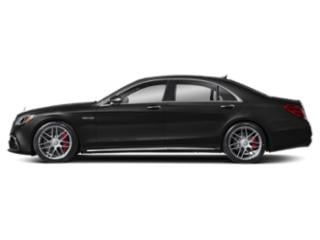 Obsidian Black Metallic 2018 Mercedes-Benz S-Class Pictures S-Class AMG S 63 4MATIC Sedan photos side view