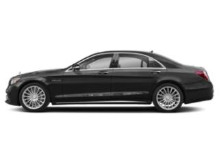 Obsidian Black Metallic 2018 Mercedes-Benz S-Class Pictures S-Class AMG S 65 Sedan photos side view
