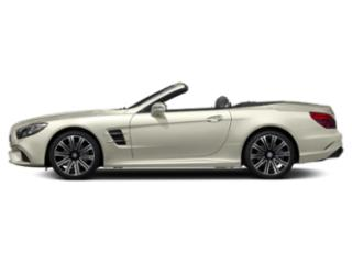 Polar White 2018 Mercedes-Benz SL Pictures SL SL 450 Roadster photos side view
