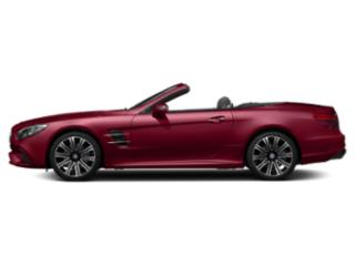 designo Cardinal Red Metallic 2018 Mercedes-Benz SL Pictures SL SL 450 Roadster photos side view