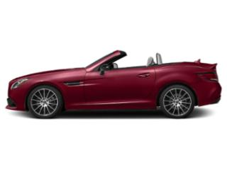 designo Cardinal Red Metallic 2018 Mercedes-Benz SLC Pictures SLC Roadster 2D SLC300 I4 Turbo photos side view
