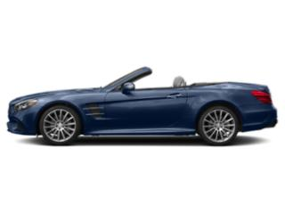 Brilliant Blue Metallic 2018 Mercedes-Benz SL Pictures SL SL 550 Roadster photos side view