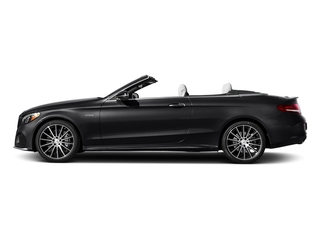 Black 2018 Mercedes-Benz C-Class Pictures C-Class Convertible 2D C43 AMG AWD V6 Turbo photos side view