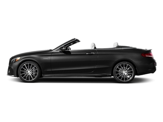 Obsidian Black Metallic 2018 Mercedes-Benz C-Class Pictures C-Class Convertible 2D C43 AMG AWD V6 Turbo photos side view