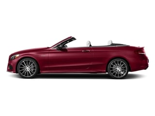 designo Cardinal Red Metallic 2018 Mercedes-Benz C-Class Pictures C-Class Convertible 2D C43 AMG AWD V6 Turbo photos side view