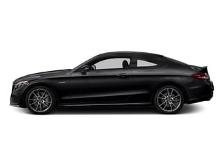 Black 2018 Mercedes-Benz C-Class Pictures C-Class AMG C 43 4MATIC Coupe photos side view