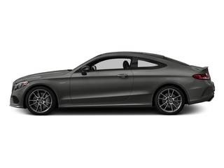designo Selenite Grey Magno (Matte Finish) 2018 Mercedes-Benz C-Class Pictures C-Class AMG C 43 4MATIC Coupe photos side view