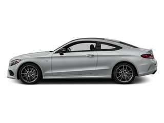 Iridium Silver Metallic 2018 Mercedes-Benz C-Class Pictures C-Class AMG C 43 4MATIC Coupe photos side view
