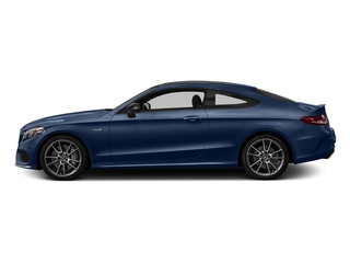 Brilliant Blue Metallic 2018 Mercedes-Benz C-Class Pictures C-Class AMG C 43 4MATIC Coupe photos side view