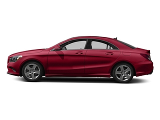 Jupiter Red 2018 Mercedes-Benz CLA Pictures CLA CLA 250 4MATIC Coupe photos side view