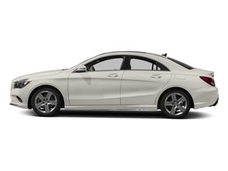 Cirrus White 2018 Mercedes-Benz CLA Pictures CLA CLA 250 4MATIC Coupe photos side view