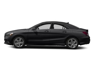 Night Black 2018 Mercedes-Benz CLA Pictures CLA CLA 250 4MATIC Coupe photos side view
