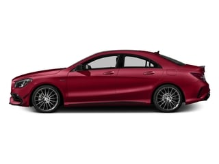 Jupiter Red 2018 Mercedes-Benz CLA Pictures CLA AMG CLA 45 4MATIC Coupe photos side view