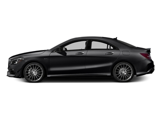 Night Black 2018 Mercedes-Benz CLA Pictures CLA AMG CLA 45 4MATIC Coupe photos side view