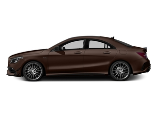 Cocoa Brown Metallic 2018 Mercedes-Benz CLA Pictures CLA AMG CLA 45 4MATIC Coupe photos side view