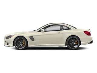designo Diamond White Metallic 2018 Mercedes-Benz SL Pictures SL 2 Door Roadster photos side view