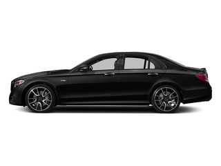Obsidian Black Metallic 2018 Mercedes-Benz E-Class Pictures E-Class Sedan 4D E43 AMG AWD V6 Turbo photos side view