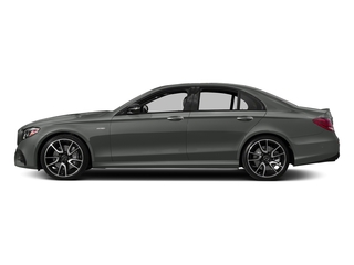 designo Selenite Grey Magno 2018 Mercedes-Benz E-Class Pictures E-Class Sedan 4D E43 AMG AWD V6 Turbo photos side view