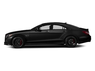 Magnetite Black Metallic 2018 Mercedes-Benz CLS Pictures CLS AMG CLS 63 S 4MATIC Coupe photos side view