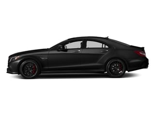 Obsidian Black Metallic 2018 Mercedes-Benz CLS Pictures CLS AMG CLS 63 S 4MATIC Coupe photos side view