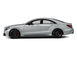 Iridium Silver Metallic 2018 Mercedes-Benz CLS Pictures CLS AMG CLS 63 S 4MATIC Coupe photos side view