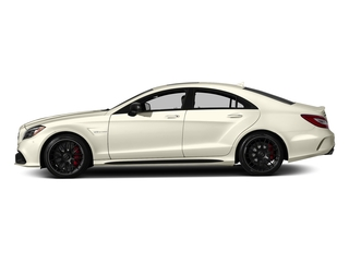 designo Diamond White Metallic 2018 Mercedes-Benz CLS Pictures CLS AMG CLS 63 S 4MATIC Coupe photos side view